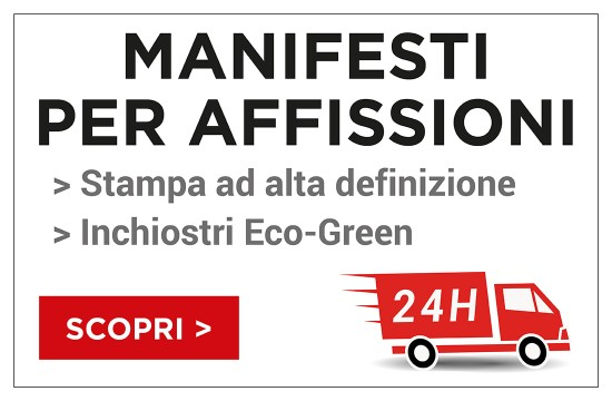 Outsideprint.com stampa manifesti eco-green in 24 ore
