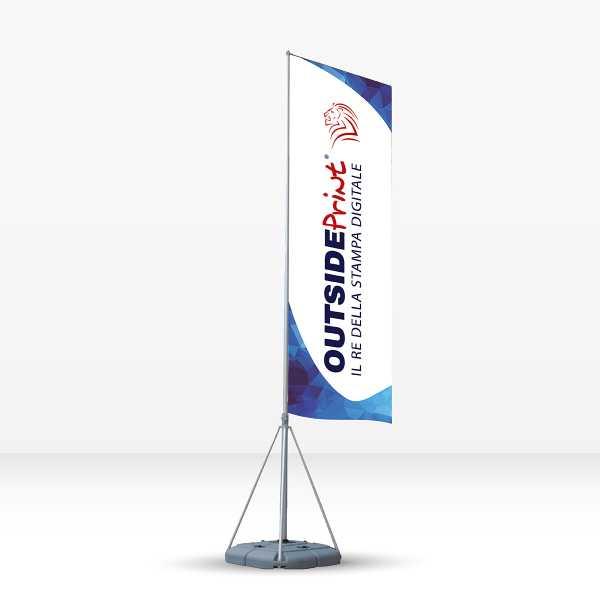 Bandiera pubblicitaria Flag 5 mt