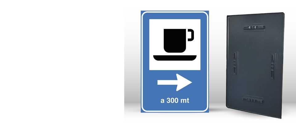 Personalizzati Cartello Segnaletico per BAR 60x90 cm