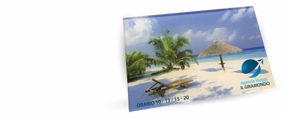 Stampa Targa 30x20 in Plexiglas 5 mm