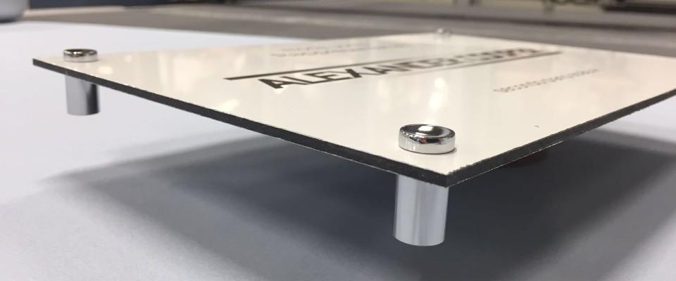 Targhe in Alluminio Dibond Rettangolari stampa online