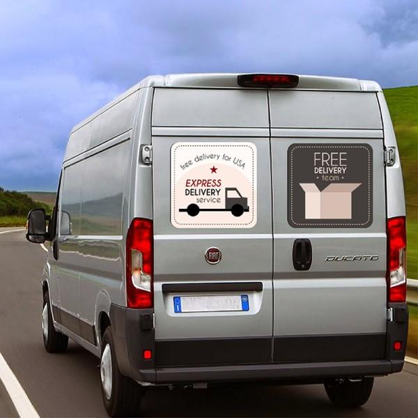 Stampa Adesivi magnetici 35x50 personalizzati