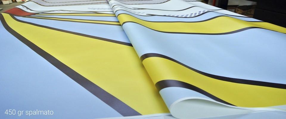 Stampa Striscioni 200x100 in PVC 450 gr