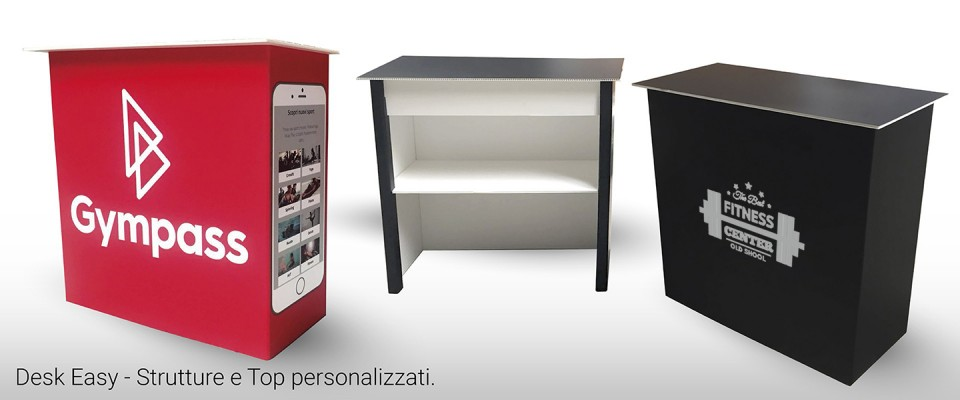 Desk in Polionda - Easy Personalizzato