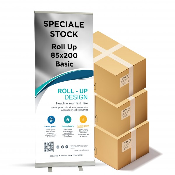 Espositori Roll Up OFFERTA 85x200 cm