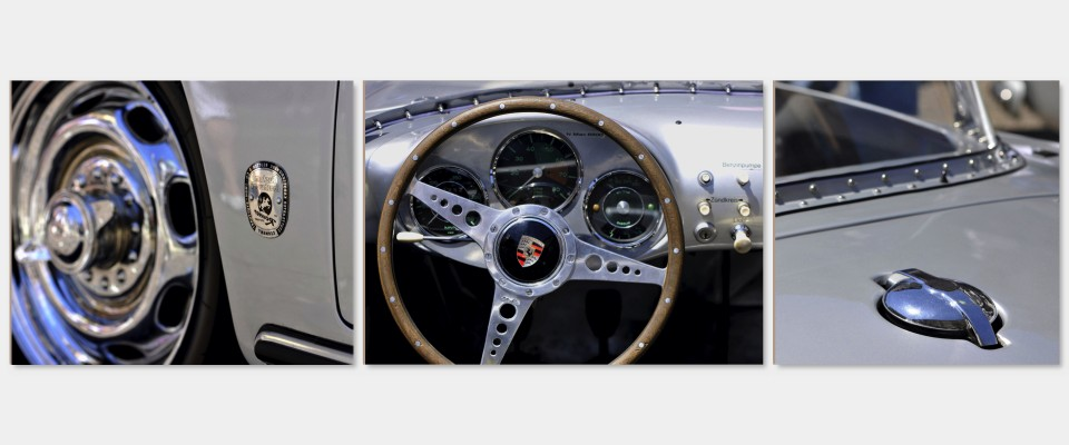 Quadro Porsche Details