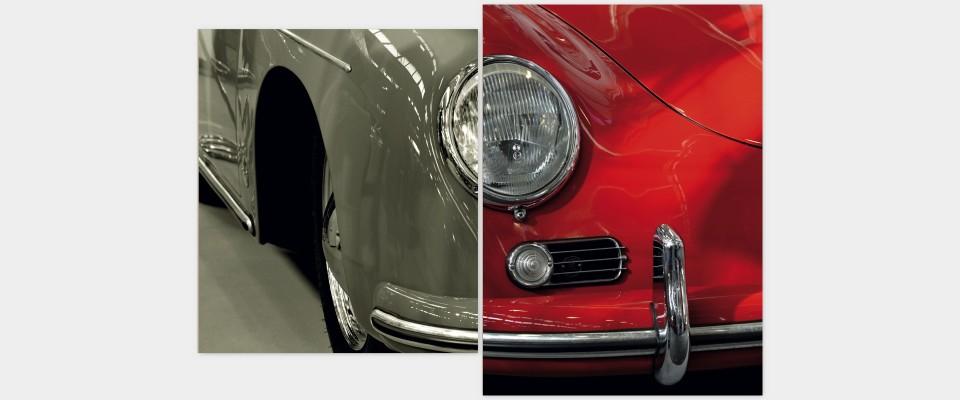 Quadro Porsche front