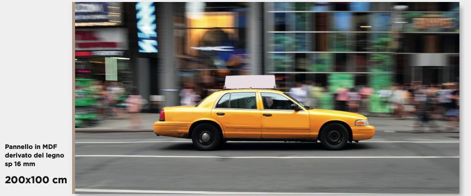 Quadro Taxi Times Square