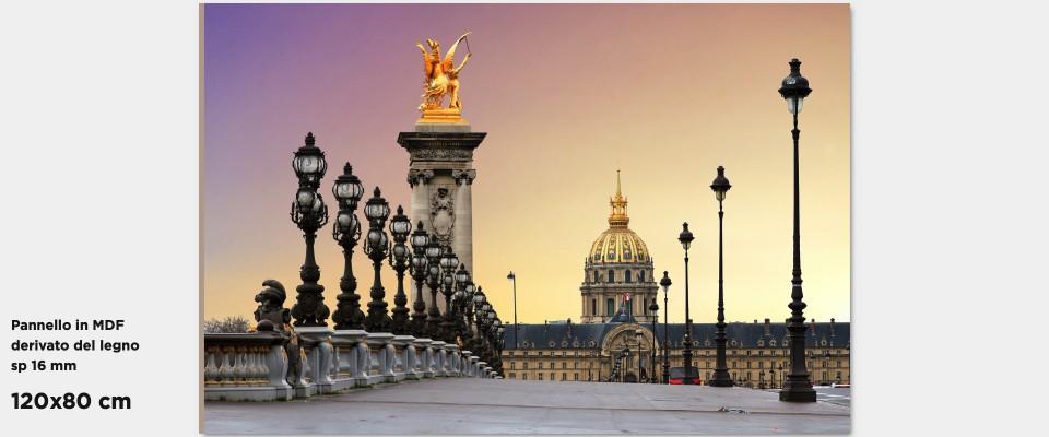Quadro Parigi Ponte Alessandro III