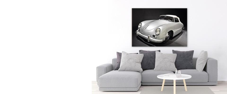 Stampa Quadro Porsche 356