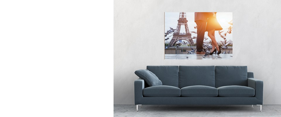 Online Quadro Paris romantic