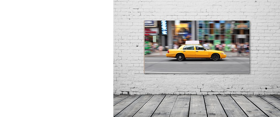 Stampa Quadro Taxi Times Square