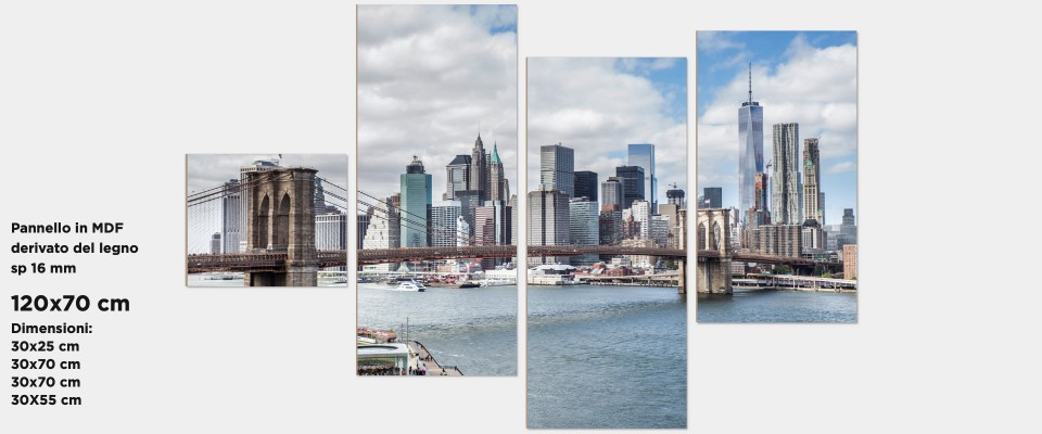 Online Quadro Brooklyn Bridge