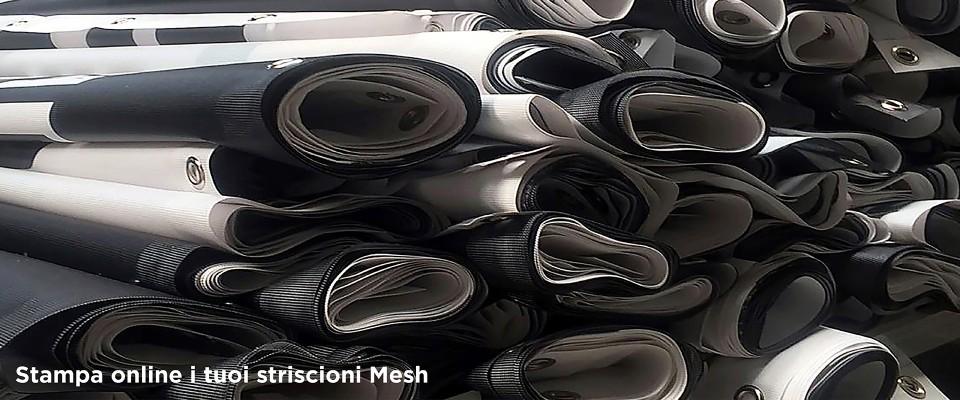 Striscioni microforato MESH online