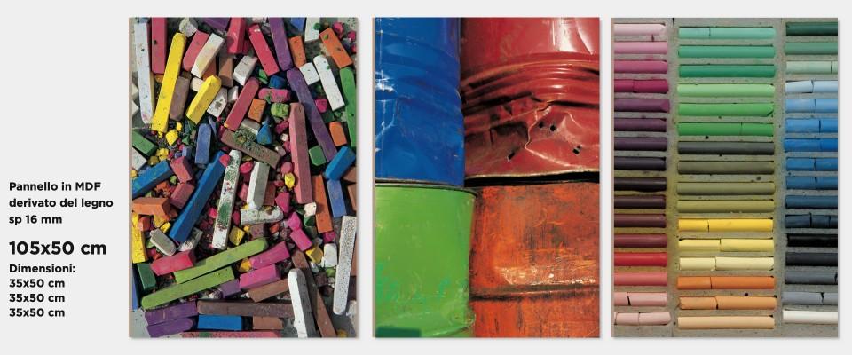 Stampa Quadro Colors palette