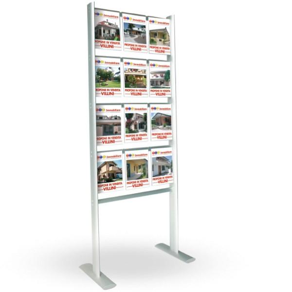 us expo - porta annunci A4 stampa