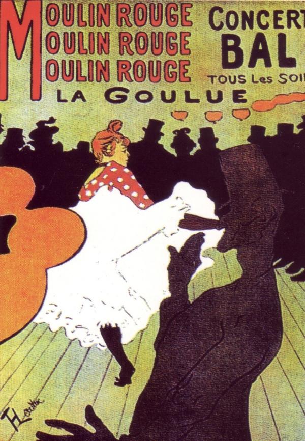 Manifesto pubblicitario | Lautrec