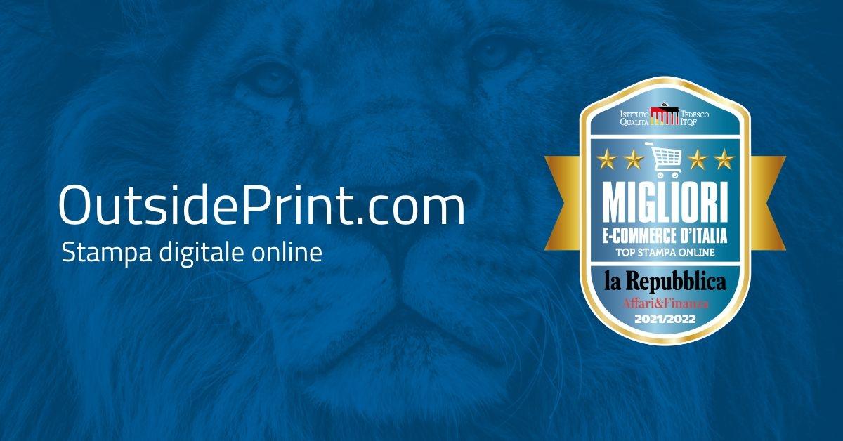 outsideprint migliori ecommerce italia stampa digitale