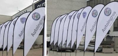 Roll up o bandiere? Quale scegliere per la tua comunicazione?
